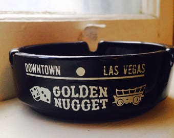 Vintage Las Vegas Golden Nugget Ashtray