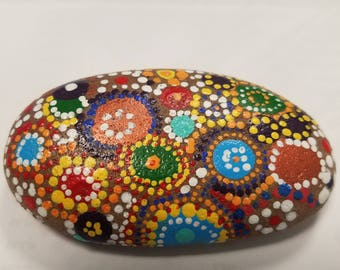 Mosaic Mandala Rock
