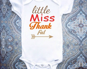Thanksgiving Onesie, Funny Baby Onesie, Baby Clothing, Baby Girl Clothing