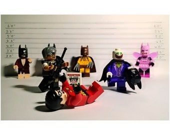 LEGO Batman & Robin Photo Print 6x4inch