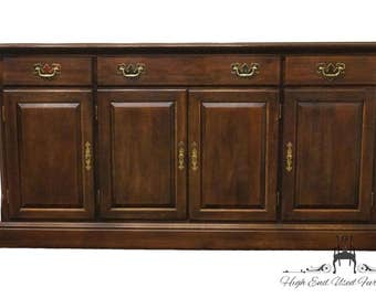 CRESENT FURNITURE Solid Cherry 64″ Buffet / Sideboard 8272