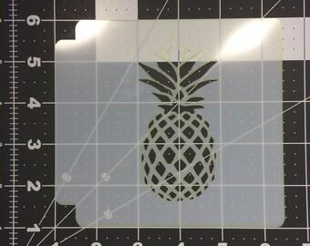 Pineapple Stencil 100