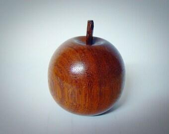 Vintage Modern Wooden Apple