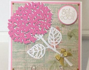 Handmade Get Well card.