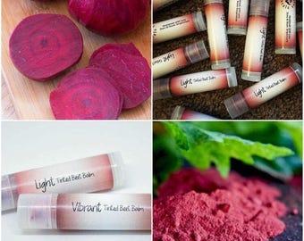 Lotus Naturals Beet Root Tinted Lip Balm All Natural Organic