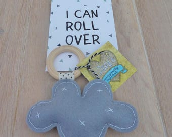 Baby gift, Baby rattle, teething toy, unique gift, baby shower gift, Rattle toy, Baby teething toy, baby rammelaar, baby toys, baby bijtring