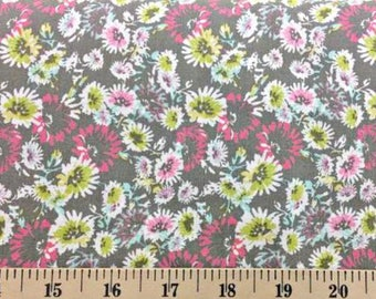 Felda Limelight Floral Apparel Fabric by Richlooms Fabric by the Yard