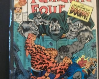 1988 The Fantastic Four #320 The Thing Vs The Hulk Doctor Doom Fair To Good Condition Marvel Comic Book