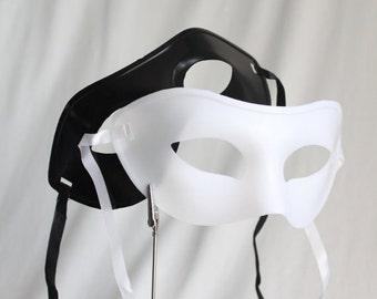 Phantom of the Opera Masks, Masquerade Party Pack Black & White 1 dz, Mardi Gras, Just the Mask, Venetian, Costume, overthetopcaketopper