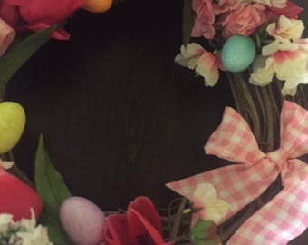Easter Egg Hunt Wreath/Door Hanger