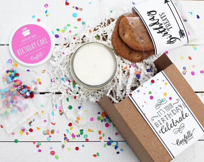 Mini Birthday Gift Box - Send a Birthday Gift | Birthday in a Box | Friend Gift | Coworker Gift