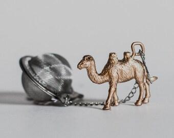 Boule à thé infuseur avec Camel - boule à thé, passoire à thé infuseur à thé, feuilles thé, thé infusion, Camel
