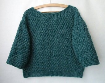 Sweater knit in wool mixed