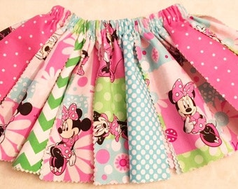 Minnie Mouse Fabric Tutu