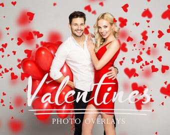 53 Valentine's overlays, romantic overlays
