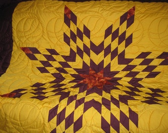 basket ball star quilt