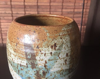 Large Vintage Pottery Container
