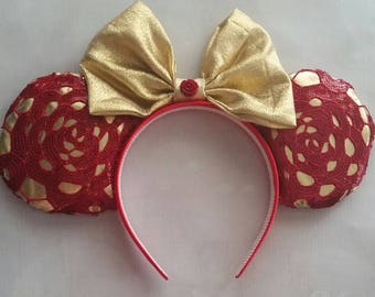 Beauty and the Beast Belle inspired ears