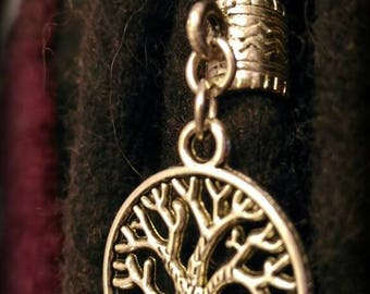 Dreadlocks tree of life jewelry
