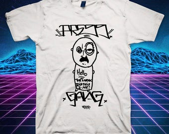 PR3SSGANG : The Lorax Did This 2 Me! T-shirt . FREE SHIPPING! in the united states . pdx . portland . oregon