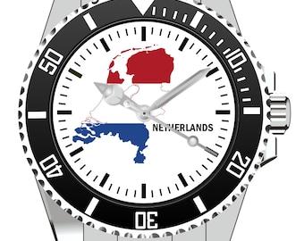 Netherlands Nederland Holland land contour watch - wrist watch 1251