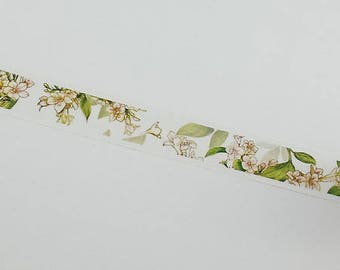 Design Washi tape delicate flowers flowers bright
