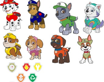 Paw Patrol SVG images for Cricut Explorer