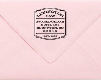 Custom Return Address Stamp, Wedding Address Stamp, Change of Address Stamp, Modern Address Stamp, Wedding Shower Gift, Teacher Gift 18LP