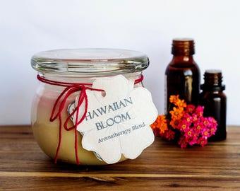 Hawaiian Bloom Handmade Aromatherapy Soy Candle