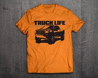 Truck Life shirts, GMC t shirts, Trucker shirts, truck shirts, men t shirt, women shirts, cars shirts, Truck funny shirts GMC trucks tees