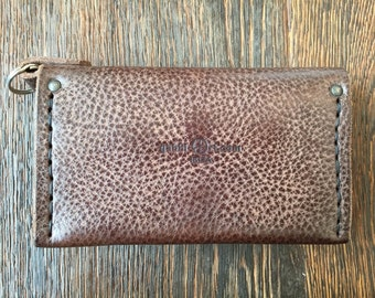 "Leather Wallet ""Sa Punta"" handmade by GABBI-ART.com"