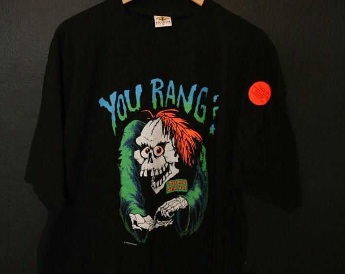 You Rang Glow Halloween Deadstock 1990s vintage Tshirt