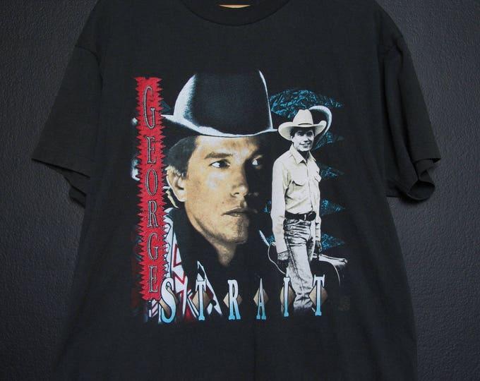 George Strait 1993 Tour Vintage Tshirt