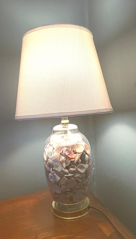 coastal decor lighting. Seashell Lamp, Beach House Decor, Lighting, Themed, Sea Glass, Bedroom Wedding Gifts, Coastal Lamps Decor Lighting U