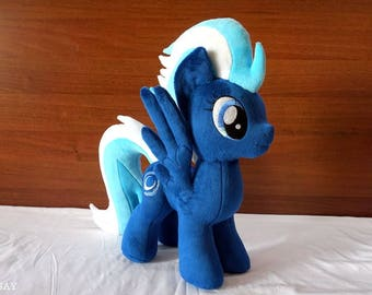 MLP Night Glider  Handmade Plush