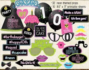 10th birthday Etsy