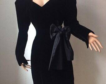 Jil Sander, vintage velvet dress