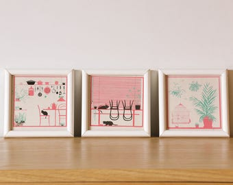 3 decorative frames