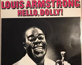 Louis Armstrong - Hello Dolly U.K. Coral Vinyl LP -  Condition is NM/VG+