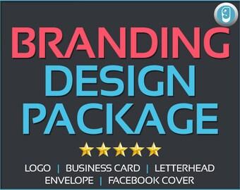 Branding Design Package | Branding, logo design, business card, letterhead, envelop, facebook cover design
