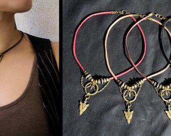 Trival Arrow necklace - 4 colours