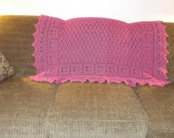 Pink Pizzaz Accent Throw