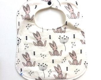 Bib - Baby Bib - Bunny Bib -Toddler Bib - Dribble Bib