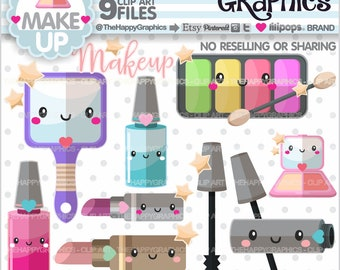 Makeup Clipart, 80%OFF, Makeup Graphics, COMMERCIAL USE, Beauty Clipart, Planner Accessories, Makeup Party, Spa Party, Salon Party