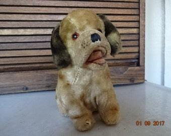 Cute stuffed puppy dog