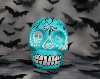 Blue Skull **ONE OF A KIND**