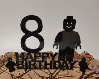 Lego Birthday Cake Topper