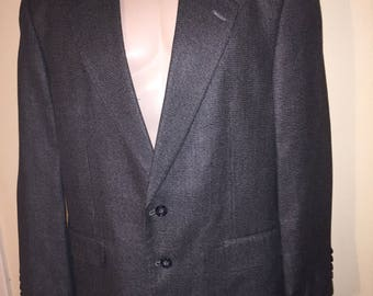 Vintage Panhandle Slim Western sports jacket in grey 44R
