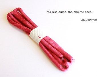 It's also called the obijime cord.002:crimson