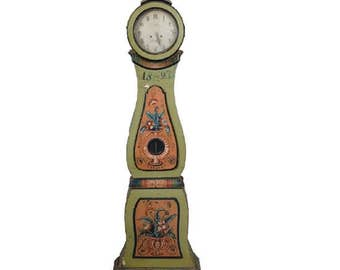 Antique Swedish Mora Clock 1827